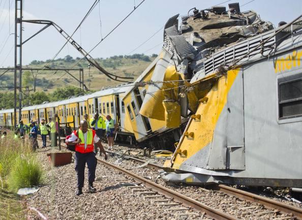 Sudafrica: incidente ferroviario alla stazione di Pretoria. 300 feriti