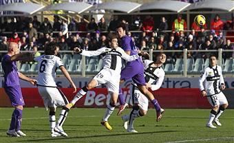 L'1-0 di Luca Toni (getty images)