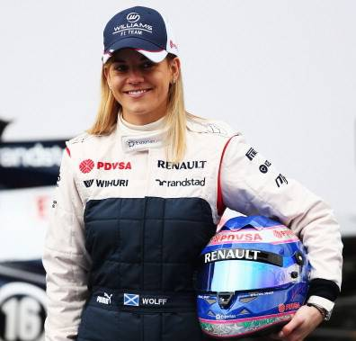 Susie Wolff (getty images)