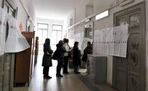 Seggio elettorale (TIZIANA FABI/AFP/Getty Images)