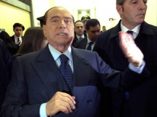 Roma: parte la manifestazione del Pdl in sostegno a Berlusconi