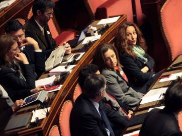 Senatori M5S (Getty Images)
