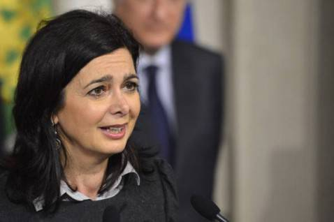 Laura Boldrini ( ANDREAS SOLARO,ANDREAS SOLARO/AFP/Getty Images)