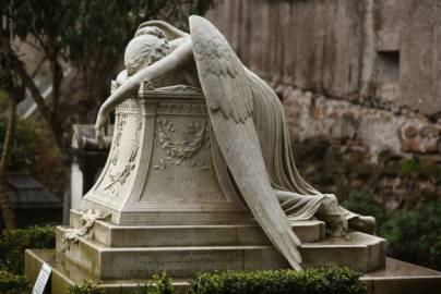 Particolare al cimitero acattolico di Roma (Dan Kitwood/Getty Images)