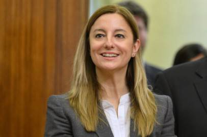 Roberta Lombardi, capogruppo M5S alla Camera (Getty Images)
