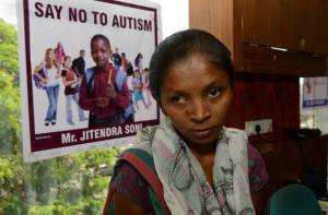 Una delle campagne mondiali contro l'autismo (Getty Images)