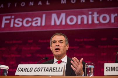 Carlo Cottarelli (Stephen Jaffe/IMF via Getty Images)