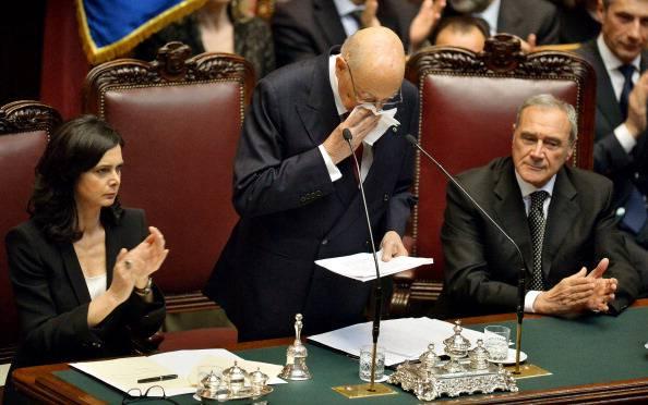 """Giorgio Napolitano: """"Primo maggio deve essere il giorno dell'impegno per il lavoro"""""""