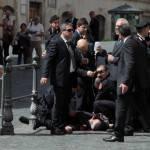 """Sparatoria Palazzo Chigi: la Procura chiede verifiche sulla pistola di Preiti, """"potrebbe già esser stata usata"""""""