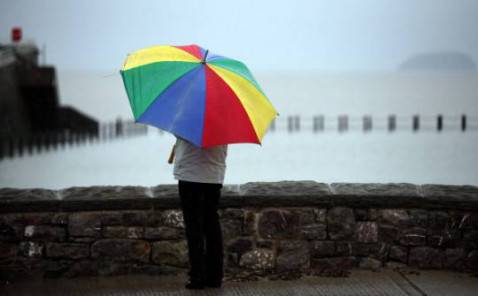 Pioggia (Matt Cardy/Getty Images)