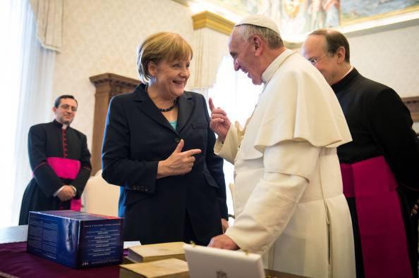 Aereo Privato Vaticano : Vaticano incontro privato tra angela merkel e papa
