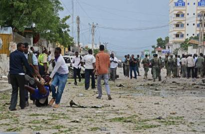 Un attentato in Somalia (Mohamed Abdiwahab/AFP/Getty Images)