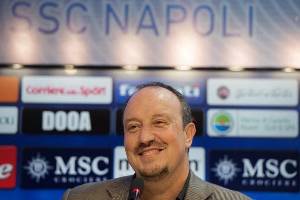 """Benitez entusiasta di Napoli e della squadra: """"Presto saremo al top"""""""