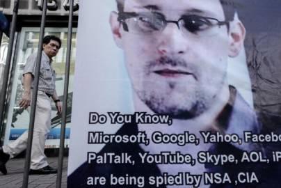 Manifestazione pro Snowden (Getty Images)