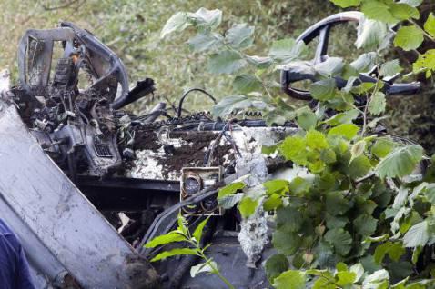 Incidente autobus in Irpinia (ALBERTO PIZZOLI/AFP/Getty Images)