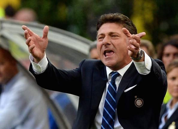 """Inter, Mazzarri recrimina: """"Che sfortuna"""""""