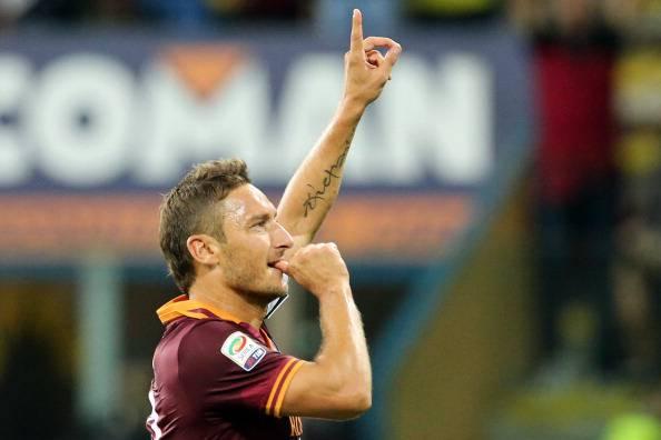 Roma, brutte notizie per Totti