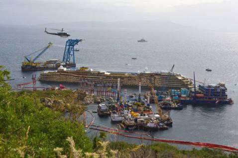 La nave da crociera Costa Concordia (Marco Secchi/Getty Images)