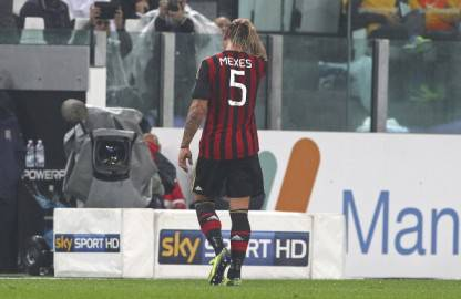 Mexes espulso (getty images)