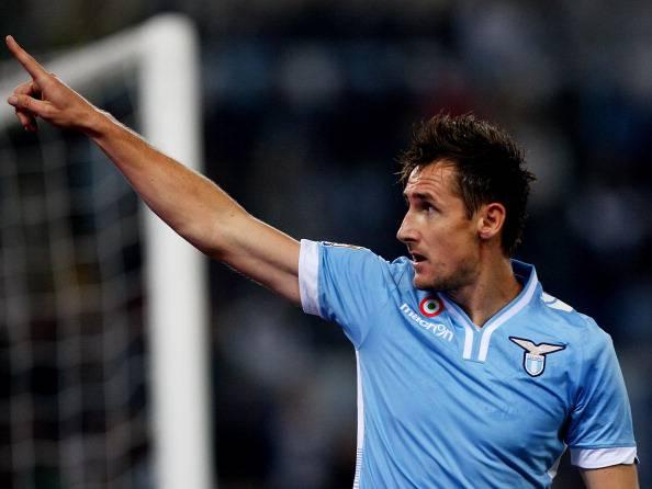 Lazio, torna Klose. Ma a gennaio…