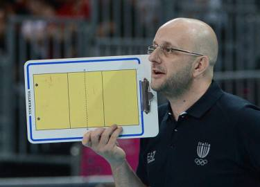 Mauro Berruto, Ct dell'ItalVolley (getty images)