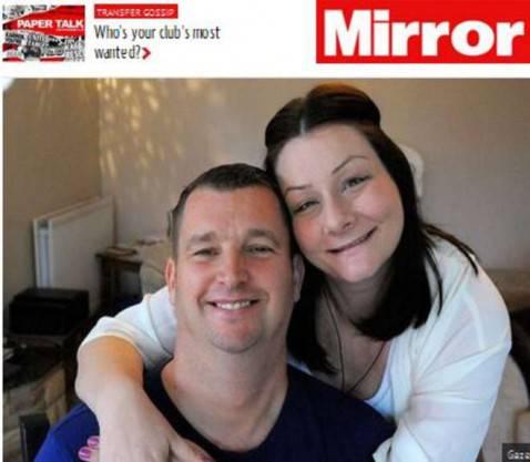 Stewart Fryett e la moglie Chrissie