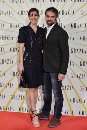 Mario Biondo e Raquel Sanchez Silva (getty images)