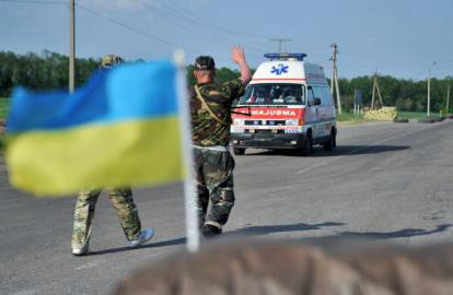 Ucraina ambulanza (getty images)