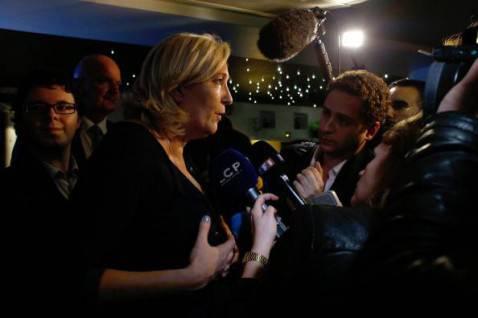 Marine Le Pen, leader del Front National (Getty images)
