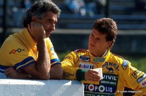 Flavio Briatore e Michael Schumache