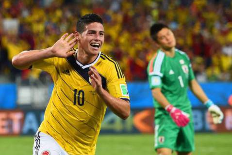 James Rodriguez (getty images)