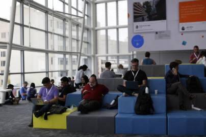 Conferenza Google per gli sviluppatori (Stephen Lam/Getty Images)