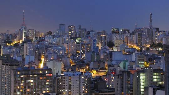 la città brasiliana di San Paolo (Foto di Júlio Boaro da Wikicommons. Licenza: cc-by-2.0)