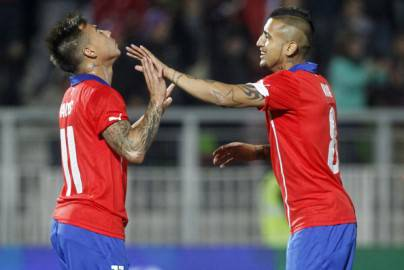 Vargas e Vidal (Getty Images)