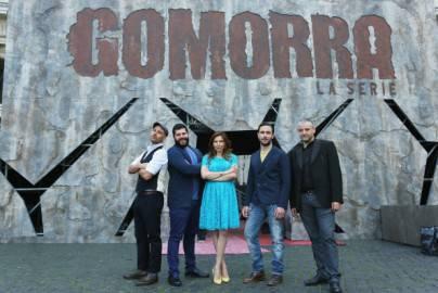 Cast di Gomorra ( getty images)