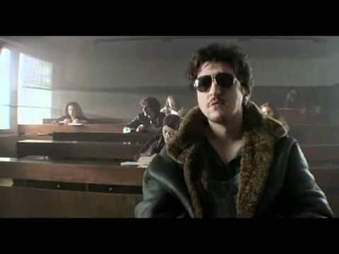 Una scena di Paz, film dedicato al mondo universitario (screenshot Youtube)