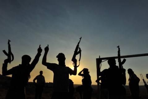 Jihadisti in Siria (BULENT KILIC/AFP/GettyImages)