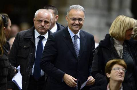 L'ex ministro Mario Mauro (YORICK JANSENS/AFP/Getty Images)