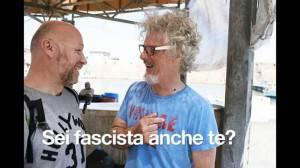 Lo spot elettorale di Nogarin con Paolo Migone (Screenshot Youtube)