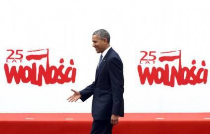 Presidente americano Barack Obama a Varsavia, 25° anniversario delle elezioni libere in Polonia ( Getty images)