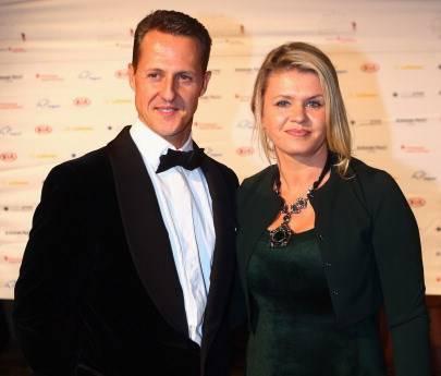 Michael e Corinna Schumacher (getty images)