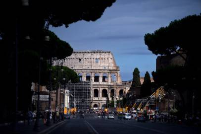 Colosseo ( FILIPPO MONTEFORTE/AFP/Getty Images)