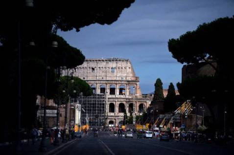 Roma ( FILIPPO MONTEFORTE/AFP/Getty Images)