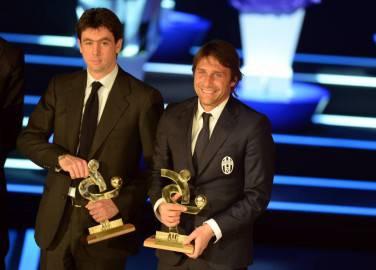 Andrea Agnelli e Antonio COnte