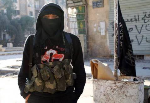 Membro di gruppo jihadista (Getty images)