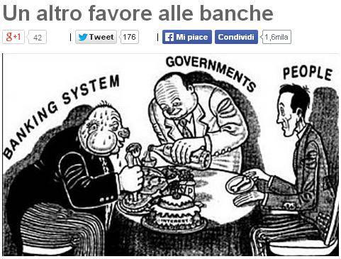 """Competitività, M5S: """"Anatocismo: un altro favore alle banche"""""""