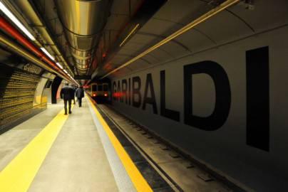 Stazione Garibaldi, metro Napoli (Getty images)