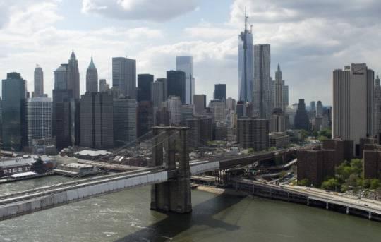 Il Ponte di Brooklyn, New York (SAUL LOEB/AFP/Getty Images)