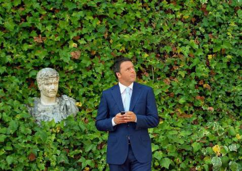 Matteo Renzi (VINCENZO PINTO/AFP/Getty Images)