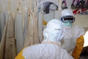 Reparto malattie infettive di Medici senza frontiere (Getty images)